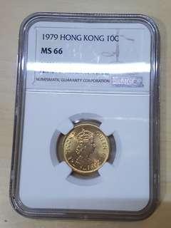 1979年香港一毫NCP MS66