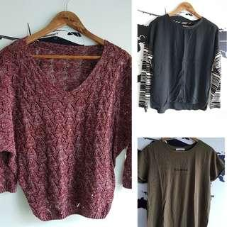 Bundle: Mango and Memo Tops