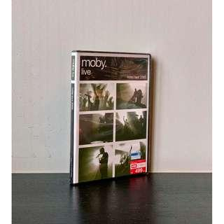 Moby Live - Hotel Tour 2005 DVD + CD set (Factory sealed never used)