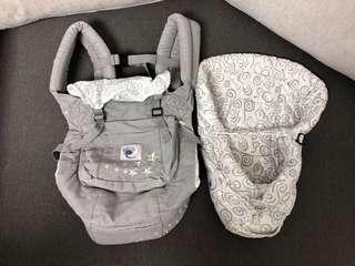 ERGO baby初生嬰兒孭帶 新淨new born孕婦 (多種孭法)