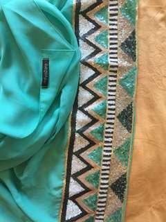Chiffon Side Sequins (Hijab by fyazara)