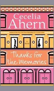 EBOOK thanks for the memories by cecilia ahern