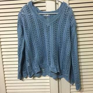 🚚 【售/換】⏰全面出清⏰藍色上衣#可換物#半價衣服拍賣會