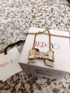 🚚 Red Valentino 蝴蝶結項鍊