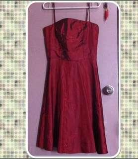 Maroon Red Formal Dress/Gown