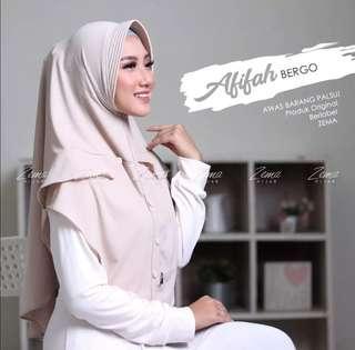 Ready zema hijab afifah bergo