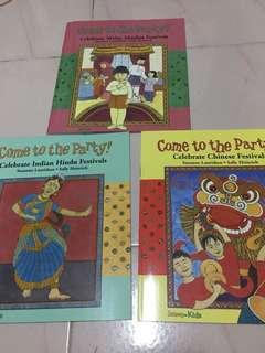 Celebrate Malay, indian, chinese festival books