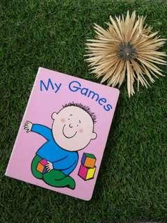 My games (hardcover)