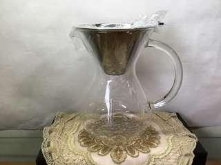 🚚 免換濾紙的不鏽鋼咖啡壺