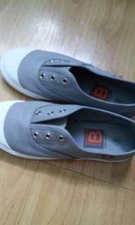 💖灰色帆布鞋💖