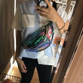 waist bag transparan