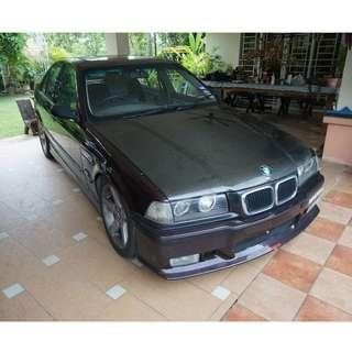 BMW 325i E36 CBU Manual