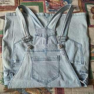 BRAND NEW: Jordache Light Wash Denim Overalls