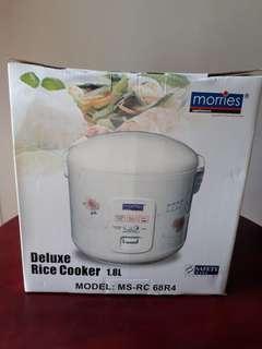 Morries deluxe 4-in-1 rice cooker 1.8L