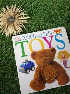 DK TOYS touch and feel