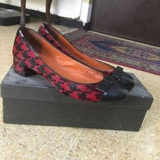 Red Berry Shoes - Staccato