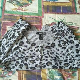 MANGO SUIT TRENDY LEOPARD STYLE LONG SLEEVES
