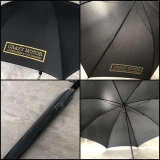 CrazyMotor(HK) Custom Fit Sunshades 專業汽車窗網  Racing Girl 碳纖 太陽雨遮(巨型) $198  男女合用/出街/飄車/戶外 落雨/拍拖遮風擋雨必用/遮太陽 遮長100Cm/打開直徑130Cm