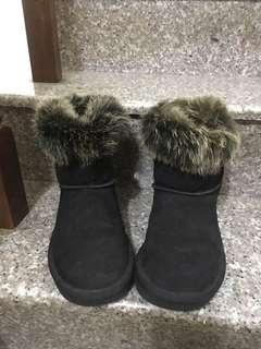 🚚 毛毛 靴子
