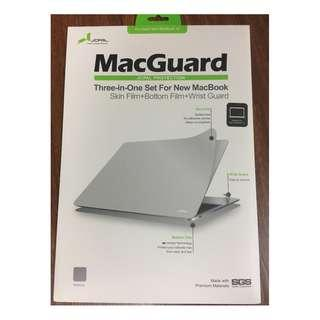 Apple Macbook 12 inch JCPal MacGuard 3-in-1 screen protector wrist guard BNEW SRP P2,350