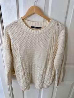 Sportsgirl Cream Knit