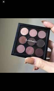 Mac Burgundy Eyeshadow Palette
