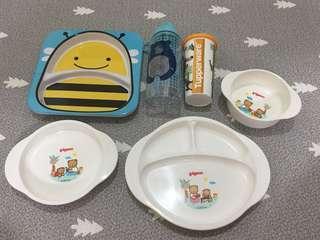 Sets makan kiddo