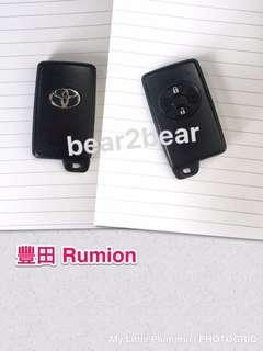豐田 Rumion 車匙