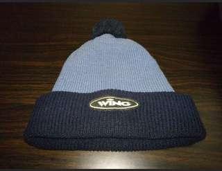 韓國wing黑藍色冷帽