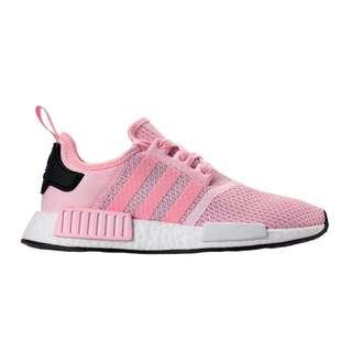 new concept ffd37 c0d17 Adidas NMD R1 (Clear Pink Cloud White Core Black)