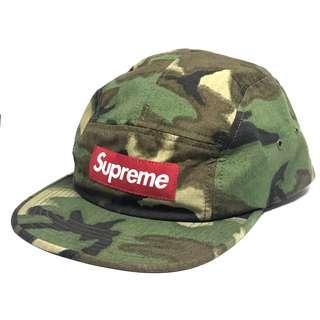 Supreme camouflage camp cap