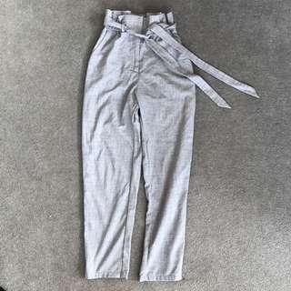 Super high waisted linen pants