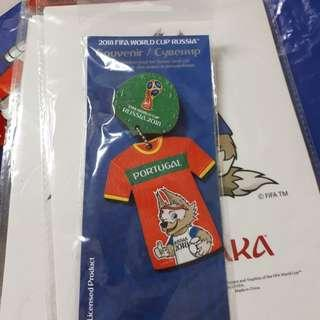 🚚 2018FIFA世足T恤吊飾