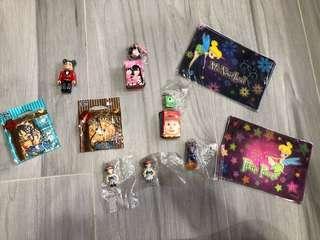 什物 玩具 $5件 龍珠 怪獸公司 toy story 海賊王 bearbrick tinkerbell