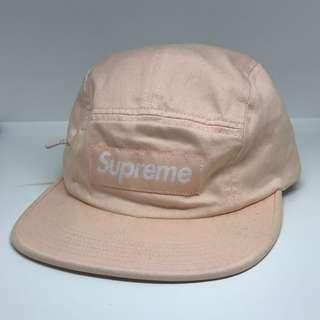 Supreme 17FW side zip camp cap