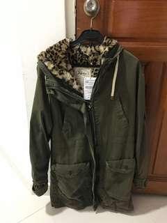 🚚 Zara khaki outer wear