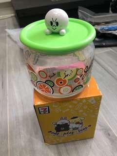 7-11 Line x Sanrio  玻璃樽