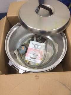 Commercial Gas Multicooker/Rice Cooker (Periuk Nasi Komersial/Kenduri-jenis gas)