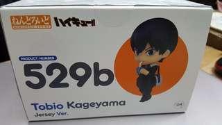 全新 日版 Good Smile Nendoroid 529b 黏土人 排球少年 Haikyuu Tobio Kageyama 影山飛雄 Jersey Ver.
