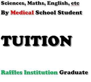 Academic Support for Secondary School O Levels Sciences: Chem and Bio
