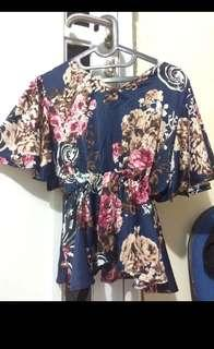 BLOUSE FLOWERS