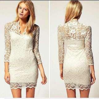 Lace Bodycon Dress ASOS Inspired