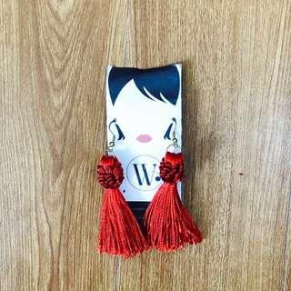 WWW China Doll Tassle Earrings