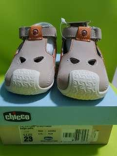 Chicco Toddler Shoes Size 23Italian Bnew with Tag and Box