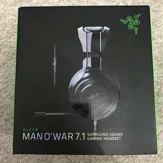 Razer Wired Manowar 7.1 Gaming Headphones