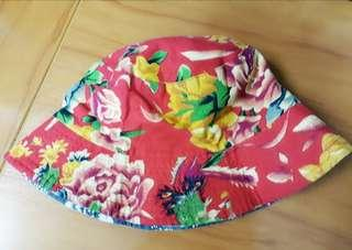 NEW! Floral Hat ❤ 2-Way Reversible
