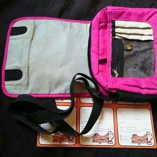 Tas selempang sling bag jackwolf'skin pink