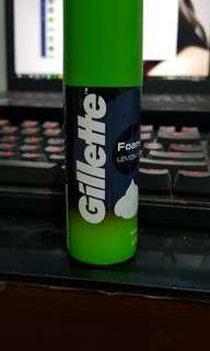 Gillette Shaving Foam Lemon Lime ukuran 50gr