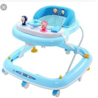 Blue Baby Walker - like new condition