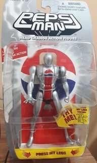 Bandai Pepsi-man, Head Changing Action